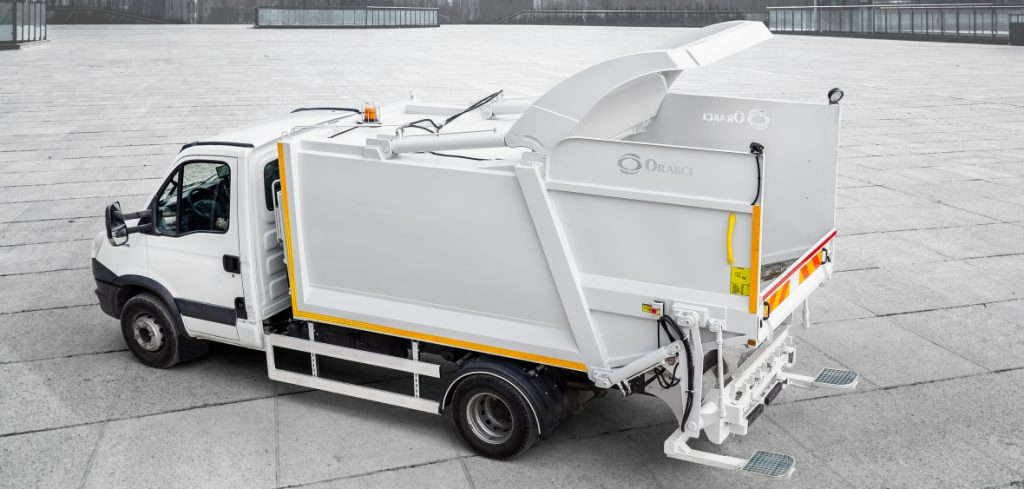 garbage truck compactor price