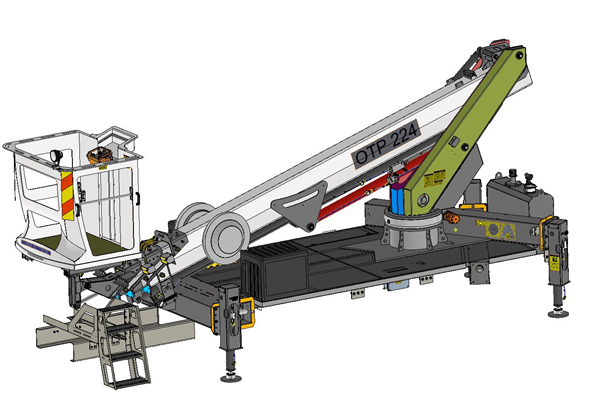 telescopic work platforms